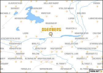 map of Oderberg