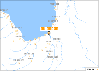 map of Odiongan
