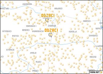 map of Odžaci