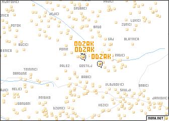 map of Odžak