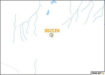 map of Odzceh