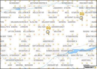 map of Öd