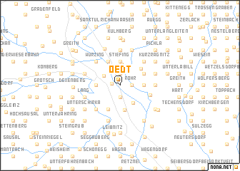 map of Oedt