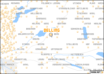 map of Oelling