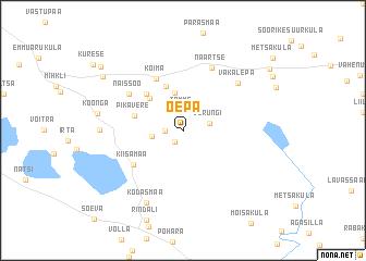 map of Õepa