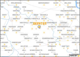 map of Oermten