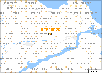 map of Oersberg