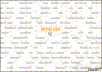 map of Offelken