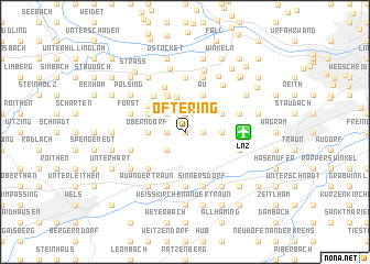 map of Oftering