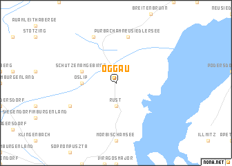 map of Oggau