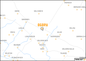 map of Ogoru