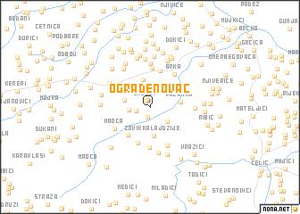 map of Ograđenovac