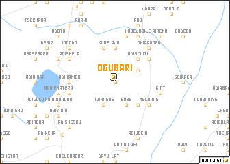 map of Ogubari