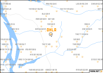 map of O-hla