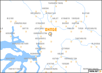map of Ohnde