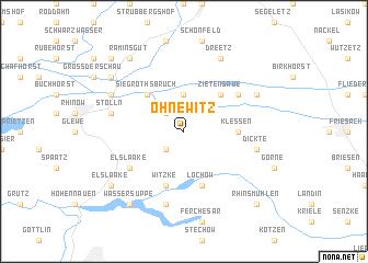 map of Ohnewitz