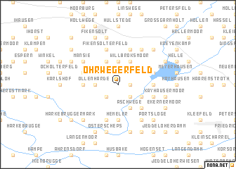 map of Ohrwegerfeld