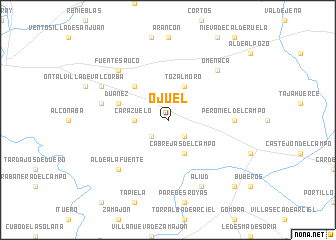 map of Ojuel