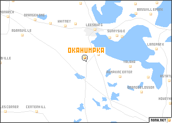 map of Okahumpka