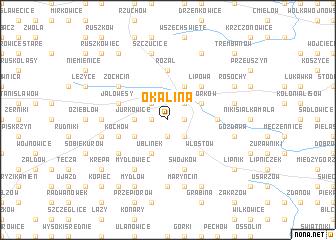 map of Okalina