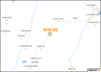 map of Okaloo