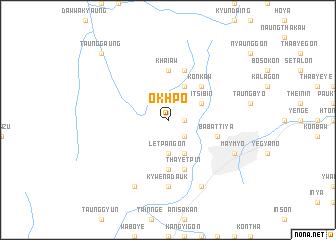 map of Okhpo