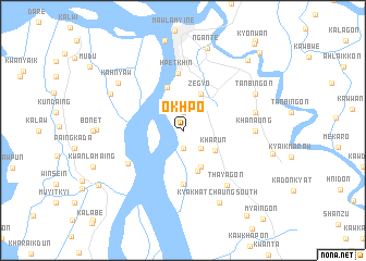 map of Okhpo
