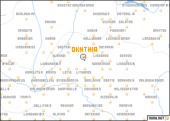map of Ókhthia