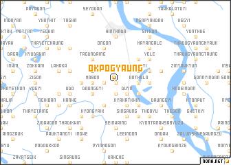 map of Okpogyaung