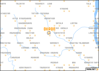 map of Okpon