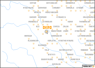 map of Okpo