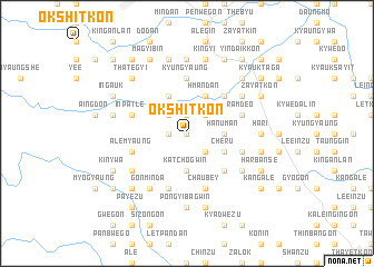 map of Okshitkon