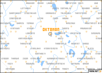 map of Oktaman