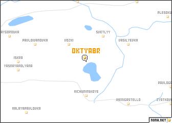map of Oktyabr\