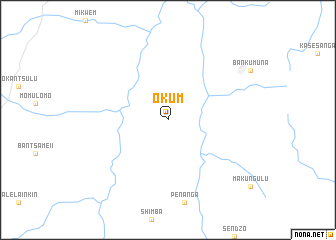 map of Okum