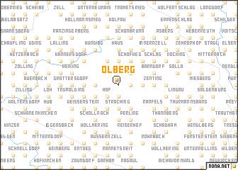 map of Ölberg