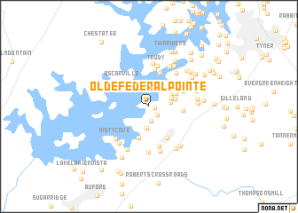 map of Olde Federal Pointe
