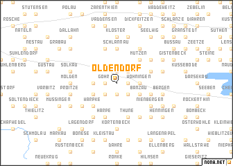 map of Oldendorf