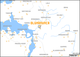map of Old Manunca