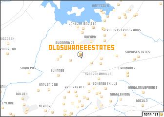 map of Old Suwanee Estates