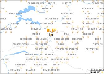 map of Olef