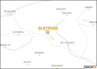 map of Oleynikov