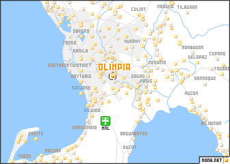 map of Olimpia