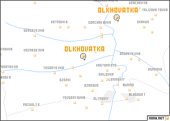 map of Ol\