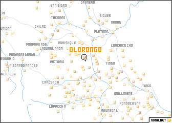 map of Olorongo