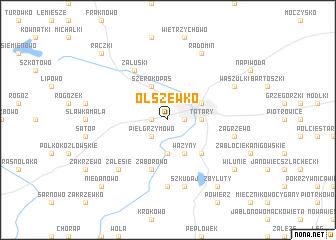 map of Olszewko