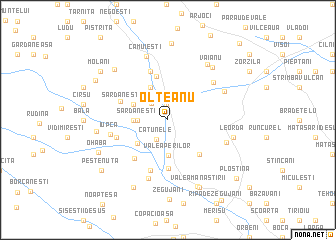 map of Olteanu