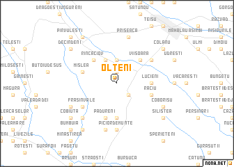 map of Olteni