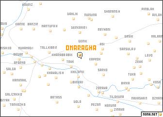 map of Ōmar Āghā