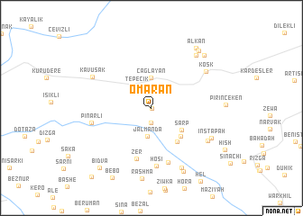 map of Omaran
